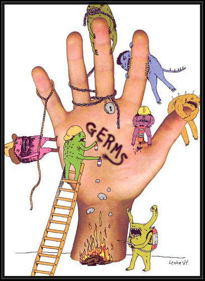 Pictures Of Germs On Hands 74